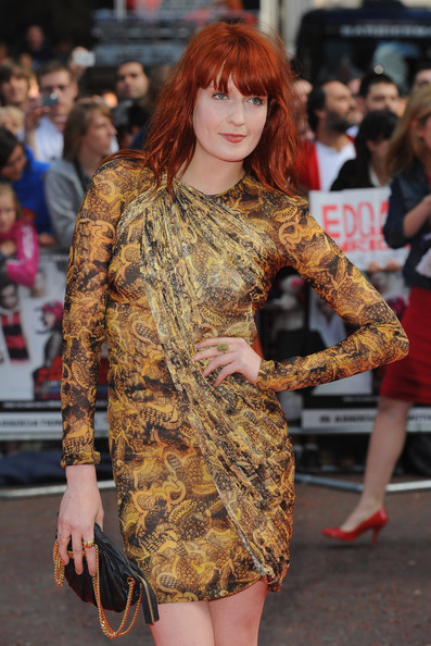 More Pics of Florence Welch Print Dress (1 of 8) - Dresses & Skirts Lookbook - StyleBistro []