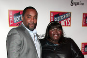 Producer Lee Daniels and actress Gabourey Sidibe attend the opening night of