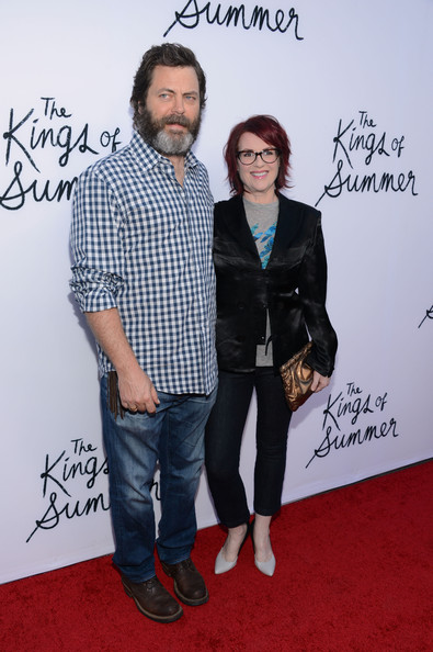 More Pics of Megan Mullally Messy Cut (1 of 8) - Messy Cut Lookbook - StyleBistro