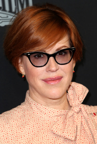 Molly Ringwald wore her hair in a cute bob at the screening of ''Star Wars Rebels: Spark of Rebellion.'