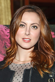 Eva Amurri's long waves looked super stunning when styled into this naturally wavy 'do.