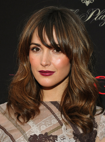Rose Byrne: With Bangs