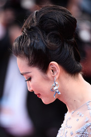 Li Bingbing attended the 'Sea of Trees' premiere in Cannes wearing a head-turning beehive.