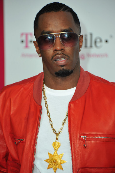 Sean Combs Oversized Pendant Necklace [eyewear,cool,fashion,fashion design,sunglasses,religious item,glasses,magenta carpet,sean ``diddy combs,nba all-star game - arrivals,california,los angeles,t-mobile,nba all-star game]