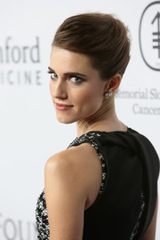 Allison Williams looked classic and elegant wearing this French twist at the launch of the Parker Institute for Cancer Immunotherapy.