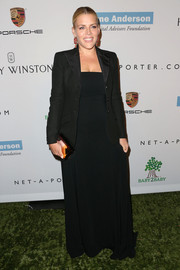 Busy Philipps chose to cover up her gown with a black blazer when she attended the Baby2Baby Gala.