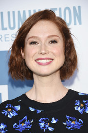 Ellie Kemper styled her short locks into a wavy bob for the New York premiere of 'The Secret Life of Pets.'