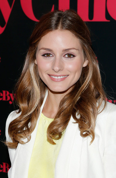 More Pics of Olivia Palermo Half Up Half Down (1 of 3) - Olivia Palermo Lookbook - StyleBistro