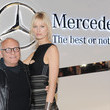 Karolina Kurkova and Max Azria