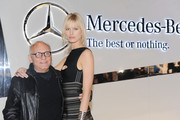 Karolina Kurkova and Max Azria Photo