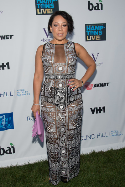 Selenis Leyva Sheer Dress