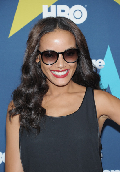 Selita Ebanks Round Sunglasses