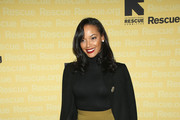 Selita Ebanks Wool Coat