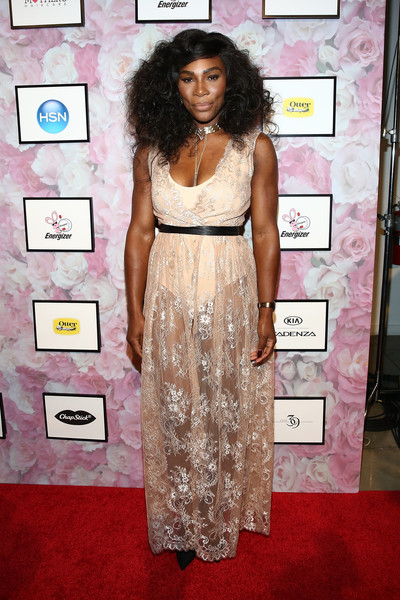 Serena Williams at her Signature Statement Collection by HSN