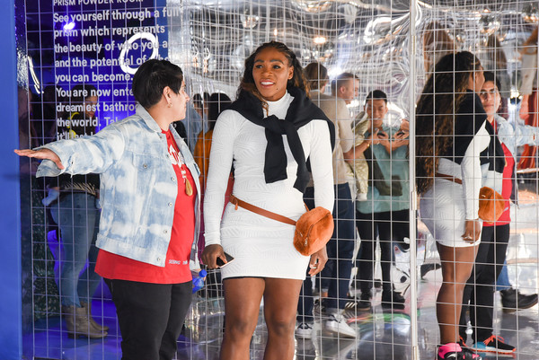 More Pics of Serena Williams Basketball Sneakers (1 of 19) - Athletic Shoes Lookbook - StyleBistro