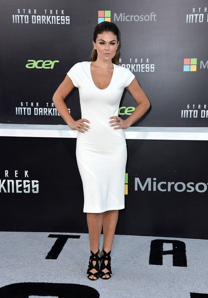 Serinda Swan Cocktail Dress