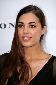 Amber Le Bon wore her hair down at the summer party of the Serpentine Gallery.