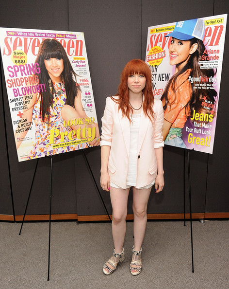 More Pics of Carly Rae Jepsen Blazer (3 of 11) - Carly Rae Jepsen Lookbook - StyleBistro