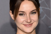 Shailene Woodley Loose Ponytail