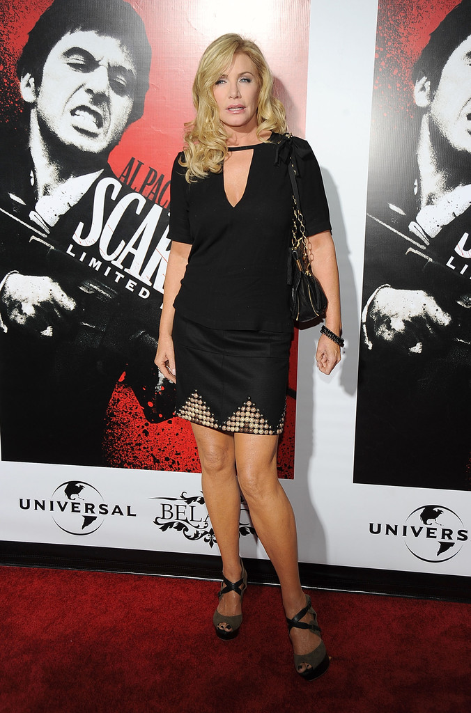 Shannon Tweed Mini Skirt Shannon Tweed Looks Stylebistro