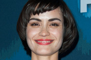Shannyn Sossamon Bowl Cut