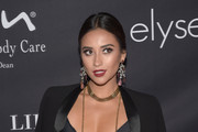Shay Mitchell Gold Popcorn Chain