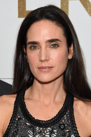 Jennifer Connelly stuck to her usual straight style when she attended the New York premiere of 'Shelter.'