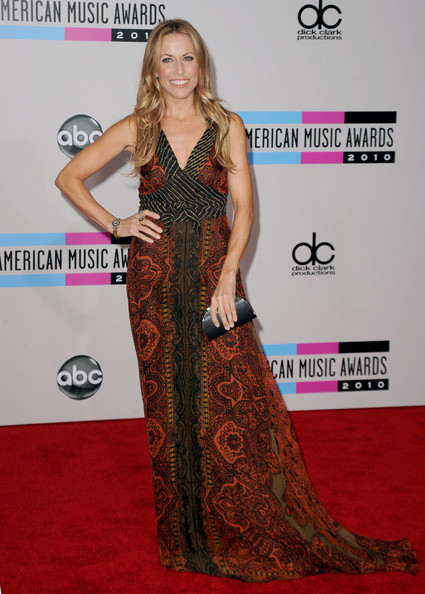 Sheryl Crow Print Dress