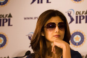 Shilpa Shetty Aviator Sunglasses