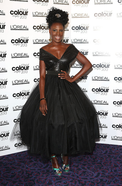 Shingai Shoniwa Off-the-Shoulder Dress