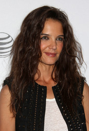 Katie Holmes rocked big hair at the premiere of 'Eternal Princess.'