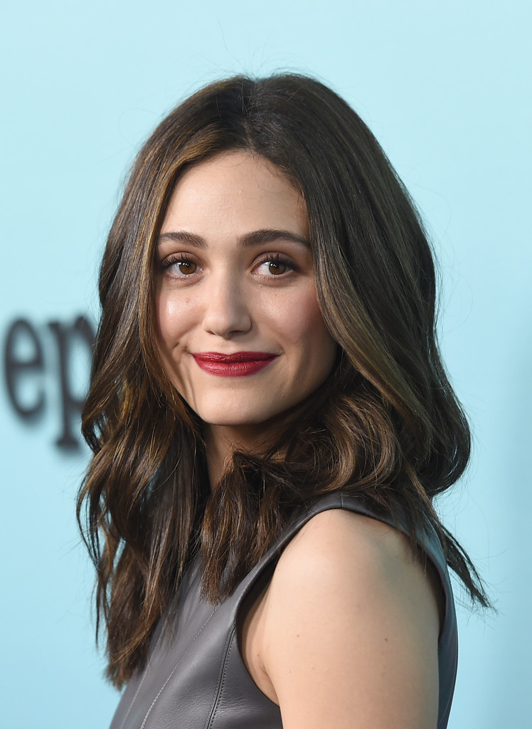 January 2015 Emmy Rossum S Prettiest Hair Moments