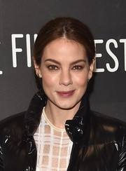 Michelle Monaghan opted for this minimally styled ponytail when she attended the Sundance premiere of 'Sidney Hall.'