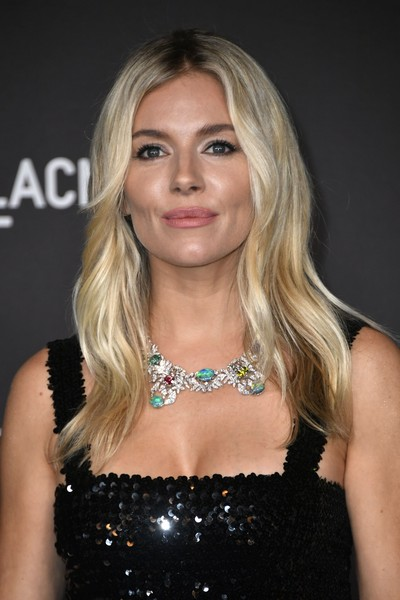 Sienna Miller Gemstone Statement Necklace