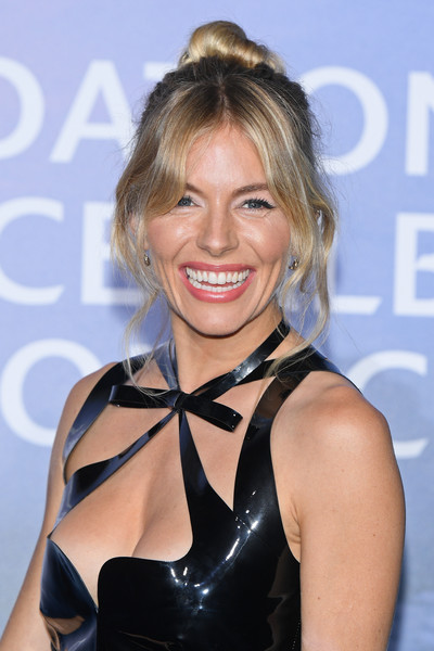 Sienna Miller Loose Bun [monte-carlo gala for planetary health : photocall,hair,hairstyle,blond,latex clothing,dress,smile,brown hair,long hair,premiere,latex,dress,sienna miller,hair,hairstyle,latex clothing,smile,brown hair,monaco,monte-carlo,sienna miller,monte carlo,celebrity,2020,actor,photograph,image,model]