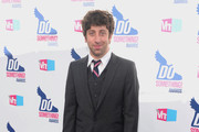 Simon Helberg Leather Slip On Shoes