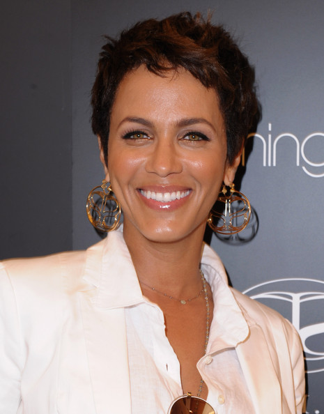Nicole Ari Parker rocked a stylish boy cut while attending an event at Bloomingdale's.