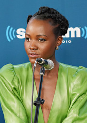 Lupita Nyong'o looked cool and cute with her cornrows during SiriusXM's 'Town Hall.'