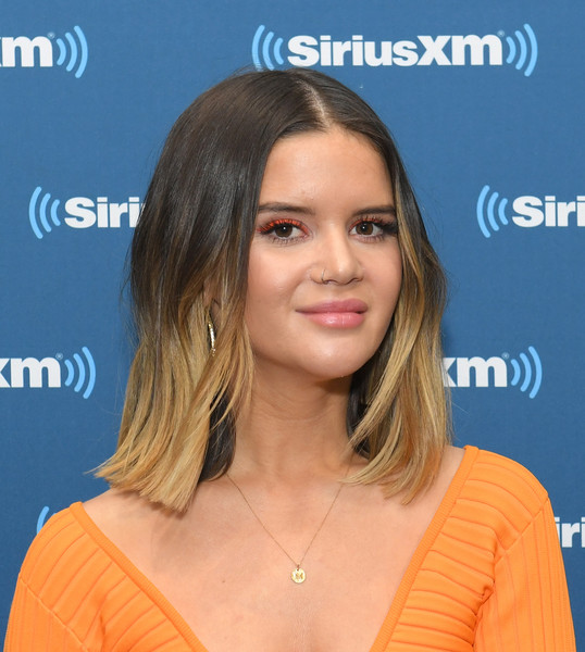 Maren Morris jumped on the piercing bandwagon with her nose ring.