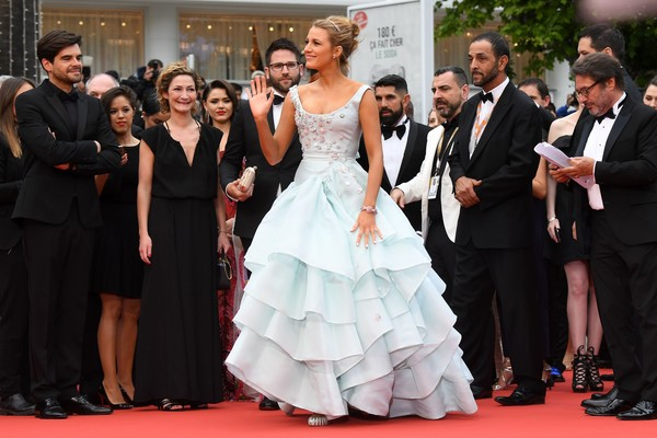 Blake Lively in Vivienne Westwood Couture at the 2016 Cannes Film Festival
