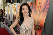 Actress Li Bingbing arrives at a screening of Fox Searchlights'
