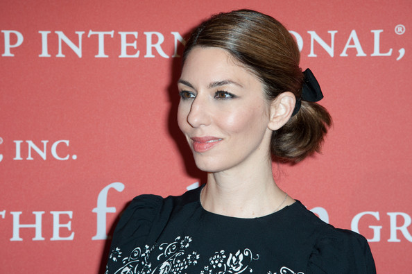 Sofia Coppola Ponytail