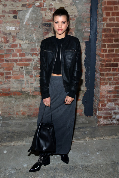 Sofia Richie Long Skirt