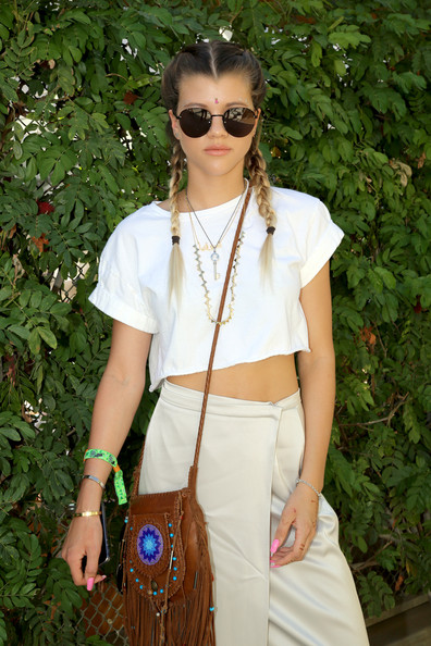 Sofia Richie Tasseled Shoulder Bag