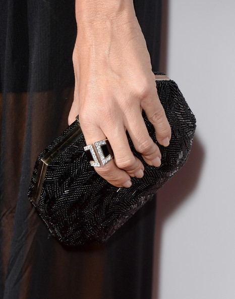 Sofia Vergara Beaded Clutch