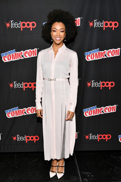 Sonequa Martin-Green Shirtdress