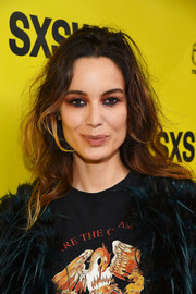 Berenice Marlohe attended the SXSW premiere of 'Song to Song' rocking disheveled waves.