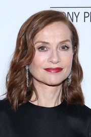 Isabelle Huppert looked lovely with her shoulder-length waves at the Sony Pictures Classics' pre-Academy Awards dinner.