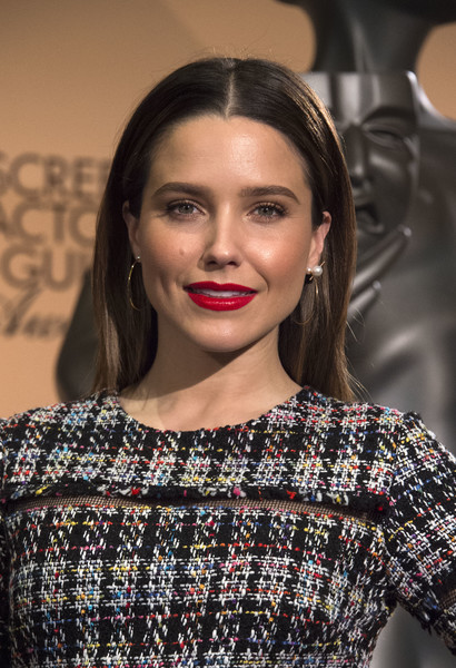 Sophia Bush Red Lipstick