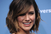 Sophia Bush Short Wavy Cut
